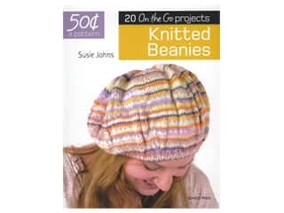 yarn: Search Press 20 One the Go Projects Knitted Beanies Book