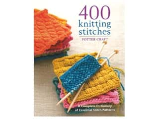 Potter 400 Knitting Stitches Book