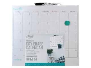 art, school & office: The Board Dudes Dry Erase Calendar 14 x 14 in.