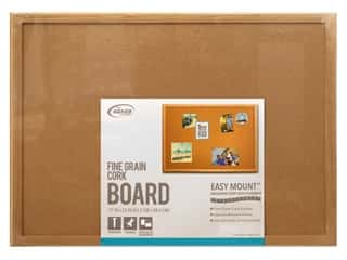 art, school & office: The Board Dudes Cork Bulletin Boards 17 x 23 in. Wood Frame