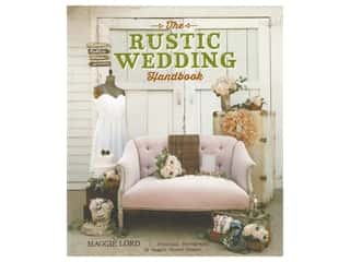 books & patterns: Gibbs Smith The Rustic Wedding Handbook Book