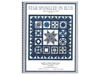 CM Designs Star Spangled In Blue Book