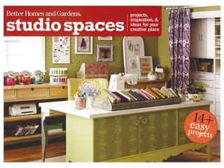 books & patterns: Better Homes and Gardens Studio Spaces Book