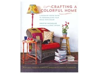 books & patterns: Crafting a Colorful Home Book