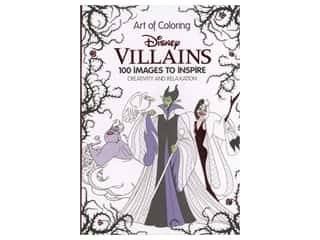 Disney Art of Coloring Villains Coloring Book