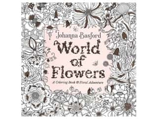 floral & garden: Penguin Books World of Flowers Coloring Book