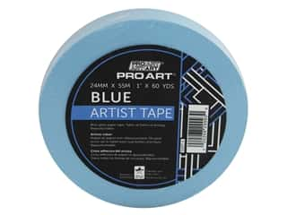 Pro Art Tape Artist 1 in. x 60 yd Blue