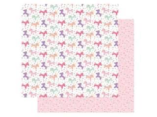 Echo Park Its Your Birthday Girl Collection Paper 12 in. x 12 in. Unicorn Balloons (25 pieces)