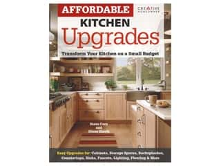 books & patterns: Creative Homeowner Affordable Kitchen Upgrades Book
