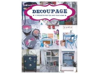 books & patterns: The Guild of Master Craftsman Publications Decoupage 17 Projects For You And Your Home Book