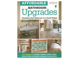 books & patterns: Creative Homeowner Affordable Bathroom Upgrades Book