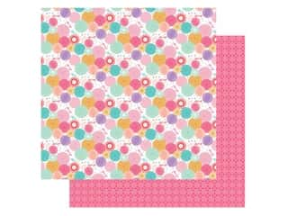 Echo Park Its Your Birthday Girl Collection Paper 12 in. x 12 in. Party Fans (25 pieces)