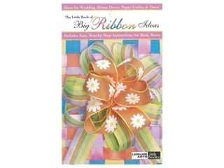 books & patterns: Leisure Arts Little Book of Big Ribbon Ideas Book