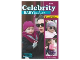 Leisure Arts Celebrity Baby Fashion Knit Book