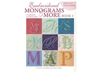 books & patterns: Leisure Arts Embroidered Monograms & More Book 2