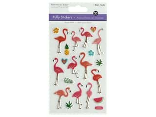 scrapbooking & paper crafts: Multicraft Sticker 3D Puffy Flamingo
