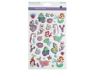 Multicraft Sticker Foil Puffy Mermaid