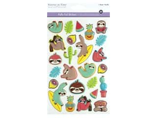 Multicraft Sticker Foil Puffy Sloth