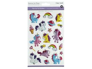 Multicraft Sticker Foil Pop Up Unicorn