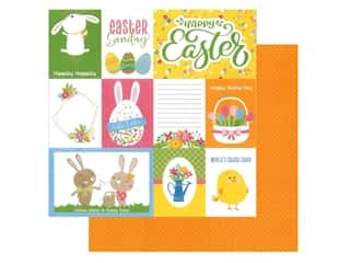 scrapbooking & paper crafts: Photo Play Collection Easter Wishes Paper 12 in. x 12 in. Happy Easter (25 pieces)