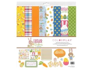 scrapbooking & paper crafts: Photo Play Collection Easter Wishes Collection Pack 12 in. x 12 in.