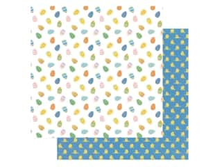 scrapbooking & paper crafts: Photo Play Collection Easter Wishes Paper 12 in. x 12 in. Egg Hunt (25 pieces)