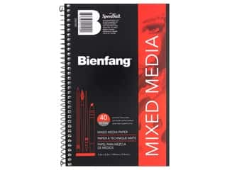 Speedball Bienfang Mixed Media Spiral Pad 5.5 in. x 8.5 in.