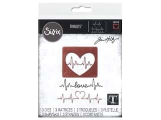 scrapbooking & paper crafts: Sizzix Dies Tim Holtz Thinlits Heartbeat