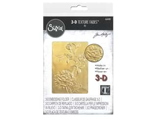 Sizzix Embossing Folders Tim Holtz 3D Texture Fades Roses