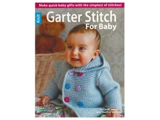 Leisure Arts Garter Stitch For Baby Knit Book
