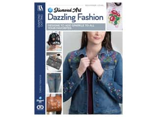 Diamond Art By Leisure Arts Freestyle Dazzling Fashion Book