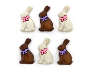 Jesse James Embellishments Chocolate Bunnies