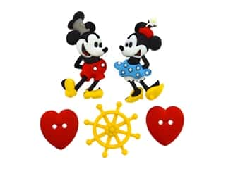 craft & hobbies: Jesse James Embellishments - Disney Steamboat Willie