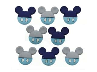 craft & hobbies: Jesse James Embellishments - Disney Baby Mickey