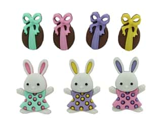 Jesse James Embellishments Easter Bunny Hop