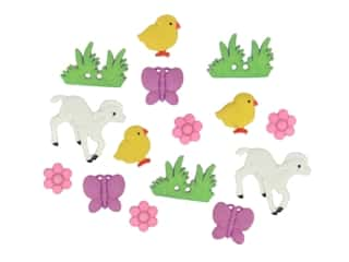 Jesse James Embellishments Easter My Little Chickadee