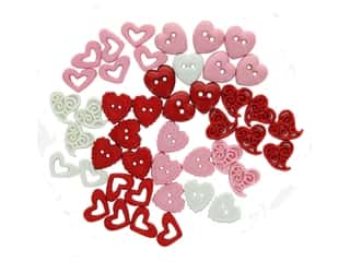 craft & hobbies: Jesse James Dress It Up Embellishments Valentine Collection Love Potion