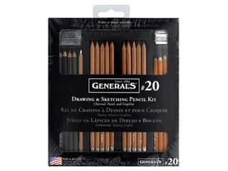 craft & hobbies: General's Drawing & Sketching Deluxe Kit