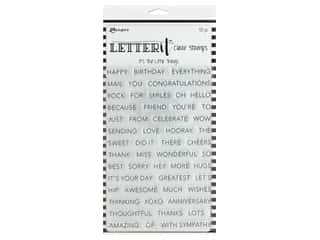 Ranger Letter It Clear Stamp Set The Little Things