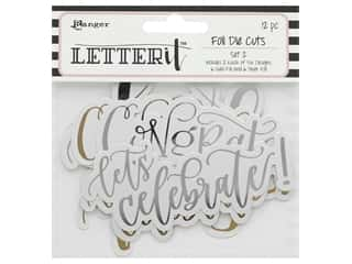 scrapbooking & paper crafts: Ranger Letter It Die Cut Set 2