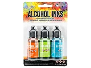 Tim Holtz Alcohol Ink by Ranger .5 oz. Spring Break Set 3 pc.