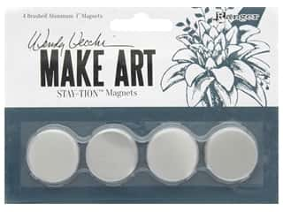 Ranger Wendy Vecchi Make Art Stay-tion 1 in. Magnets 4 pc
