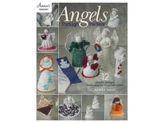 yarn: Annie's Crochet Angels Through The Year Book