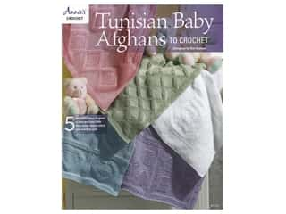 Annie's Tunisian Baby Afghans To Crochet Book
