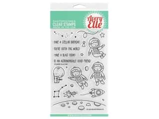 Avery Elle Clear Stamp Astronauts