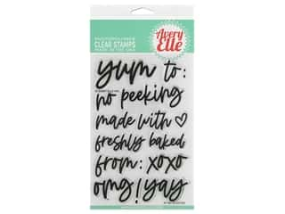 Avery Elle Clear Stamp Gifted