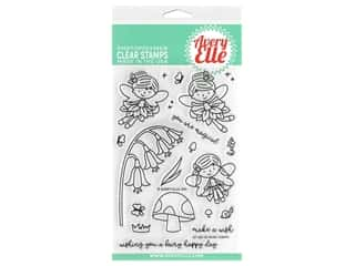 Avery Elle Clear Stamp Fairy Happy