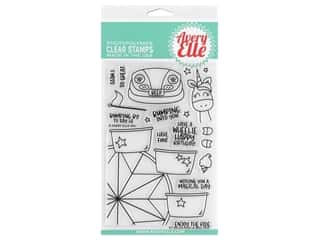 Avery Elle Clear Stamp Peek A Boo Fair