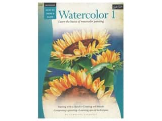 books & patterns: Walter Foster How to Draw & Paint Watercolor 1 Book