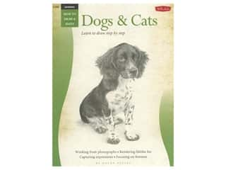 books & patterns: Walter Foster How to Draw & Paint Drawing Dogs & Cats Book